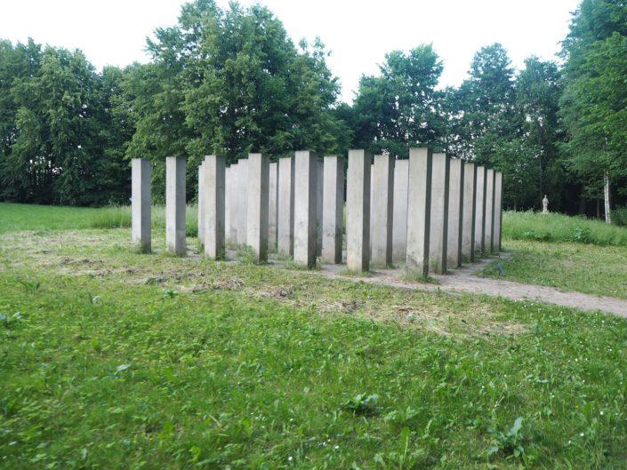 Ekspozycje plenerowe w Centrum Rzeźby w Orońsku
