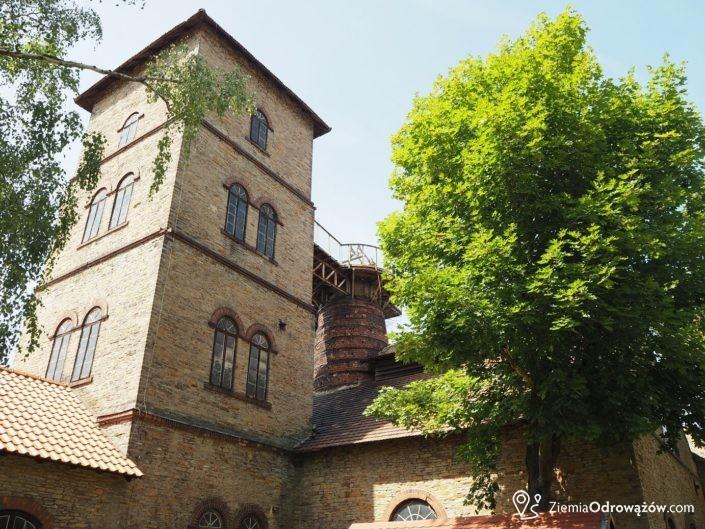 Wieża gichtociągowa - huta w Chlewiskach