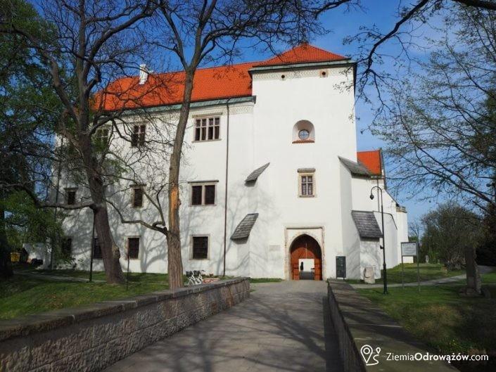 Wieża bramna w Zamku w Szydłowcu