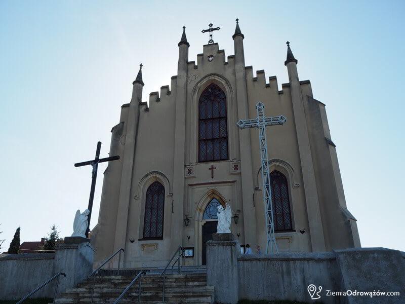 Kościół św Krzyża w Borkowicach