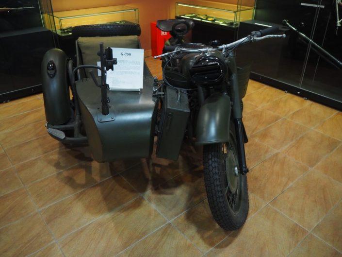 motocykl k-750 muzeum orła białego