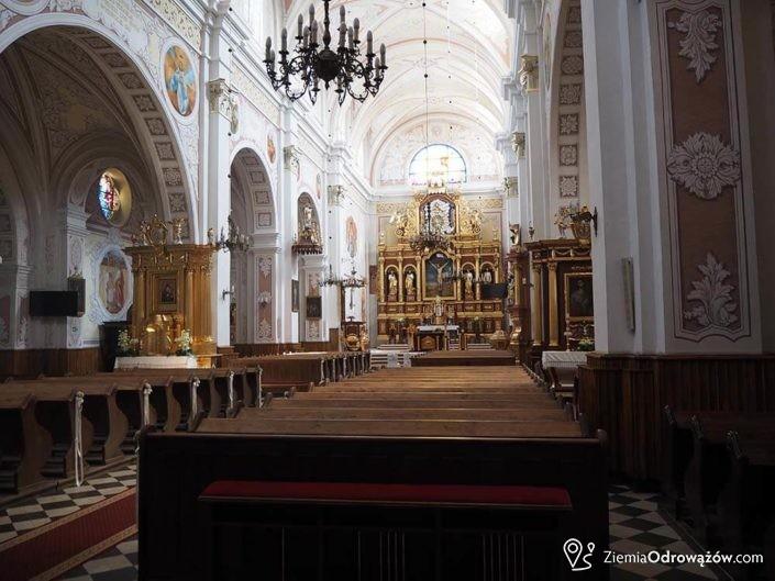Wnętrze kościoła św. Bartłomieja