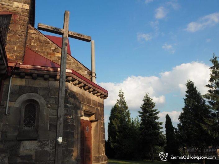Zabytkowy kościół w Jastrzębiu
